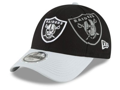 Oakland Raiders New Era NFL Kids Side Flect 9FORTY Cap