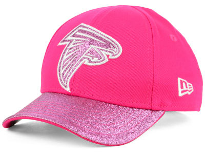 Atlanta Falcons New Era NFL Girls Shimmer Shine Adjustable Cap