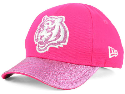 Cincinnati Bengals New Era NFL Girls Shimmer Shine Adjustable Cap