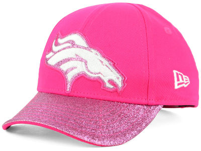 Denver Broncos New Era NFL Girls Shimmer Shine Adjustable Cap