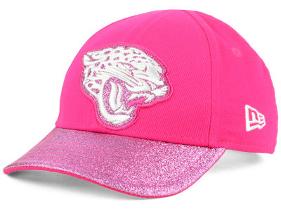 Jacksonville Jaguars New Era NFL Girls Shimmer Shine Adjustable Cap