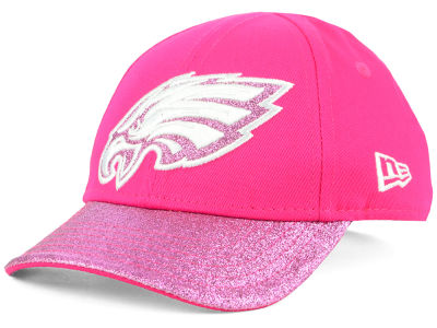 Philadelphia Eagles New Era NFL Girls Shimmer Shine Adjustable Cap
