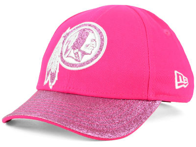 Washington Redskins New Era NFL Girls Shimmer Shine Adjustable Cap