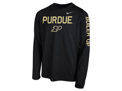 Purdue Boilermakers Nike NCAA Youth Legend Long Sleeve T-Shirt