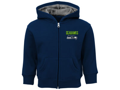 Seattle Seahawks Outerstuff NFL Toddler Zone Full Zip Hoodie