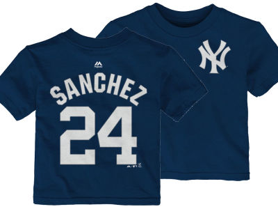 New York Yankees Gary Sanchez Outerstuff MLB Infant Official Player T-Shirt