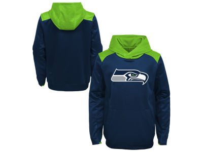 Seattle Seahawks Outerstuff NFL Kids Off The Grid Hoodie