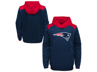 New England Patriots Outerstuff NFL Kids Off The Grid Hoodie