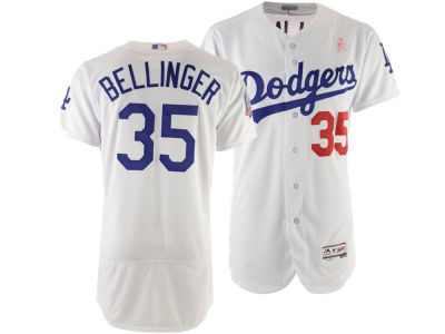 fe2dab34f Los Angeles Dodgers Cody Bellinger Majestic 2018 MLB Men s Mothers Day  Flexbase Jersey