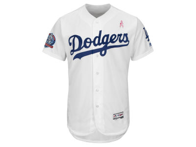Los Angeles Dodgers Majestic 2018 MLB Men's Mothers Day Flexbase Jersey