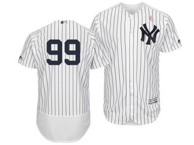 New York Yankees Aaron Judge Majestic 2018 MLB Men's Mothers Day Flexbase Jersey