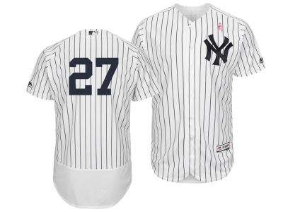 New York Yankees Giancarlo Stanton Majestic 2018 MLB Men's Mothers Day Flexbase Jersey