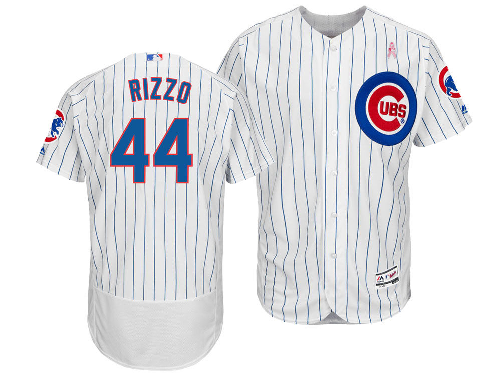 e283f1726 Chicago Cubs Anthony Rizzo Majestic 2018 MLB Men s Mothers Day Flexbase  Jersey