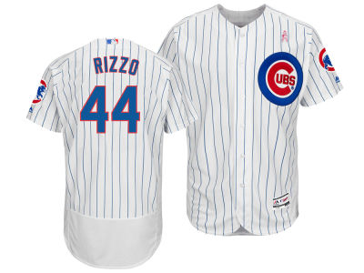 Chicago Cubs Anthony Rizzo Majestic 2018 MLB Men's Mothers Day Flexbase Jersey