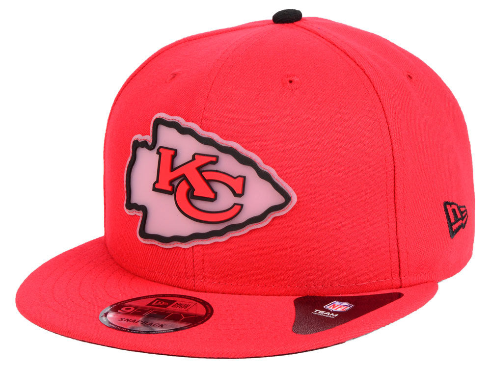 Kansas City Chiefs New Era NFL Team Clear 9FIFTY Snapback Cap  6736321248f