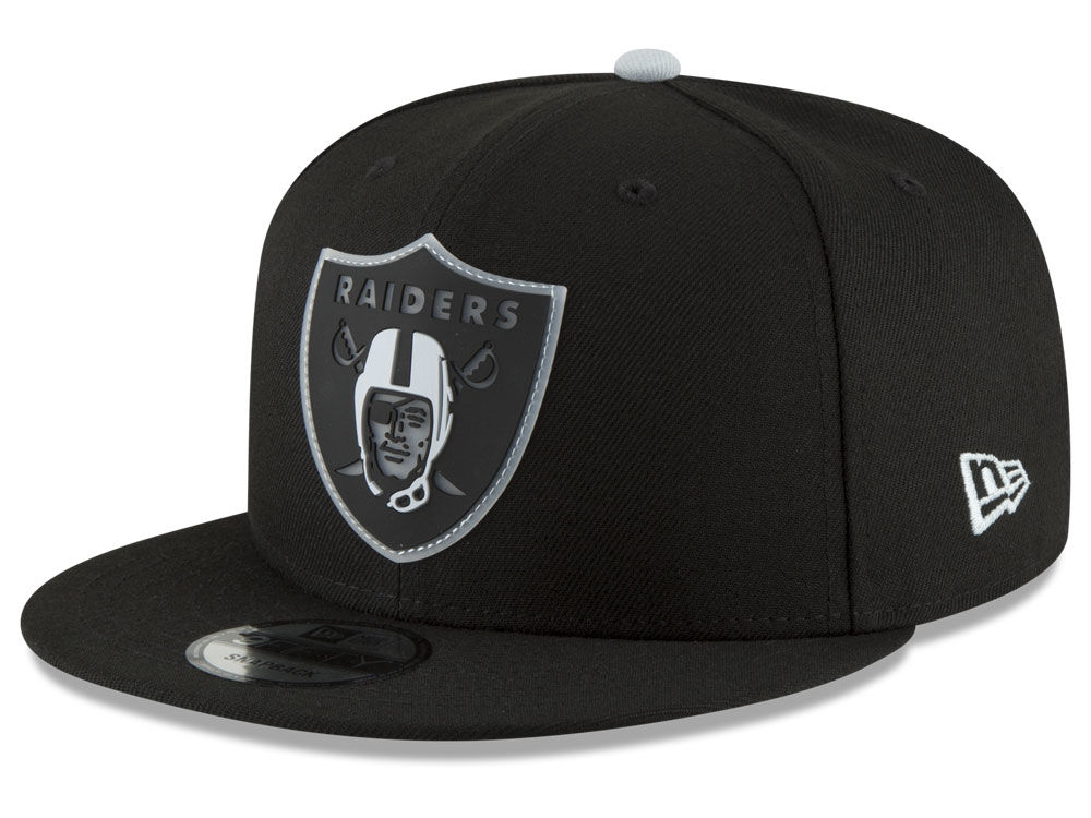b7bd7a2cf9b Oakland Raiders New Era NFL Team Clear 9FIFTY Snapback Cap
