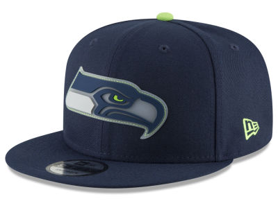 Seattle Seahawks New Era NFL Team Clear 9FIFTY Snapback Cap
