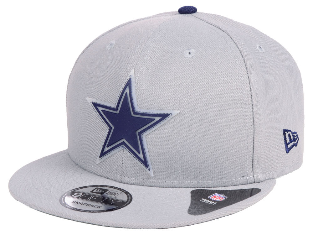 61573d1ed87 Dallas Cowboys New Era NFL Team Clear 9FIFTY Snapback Cap