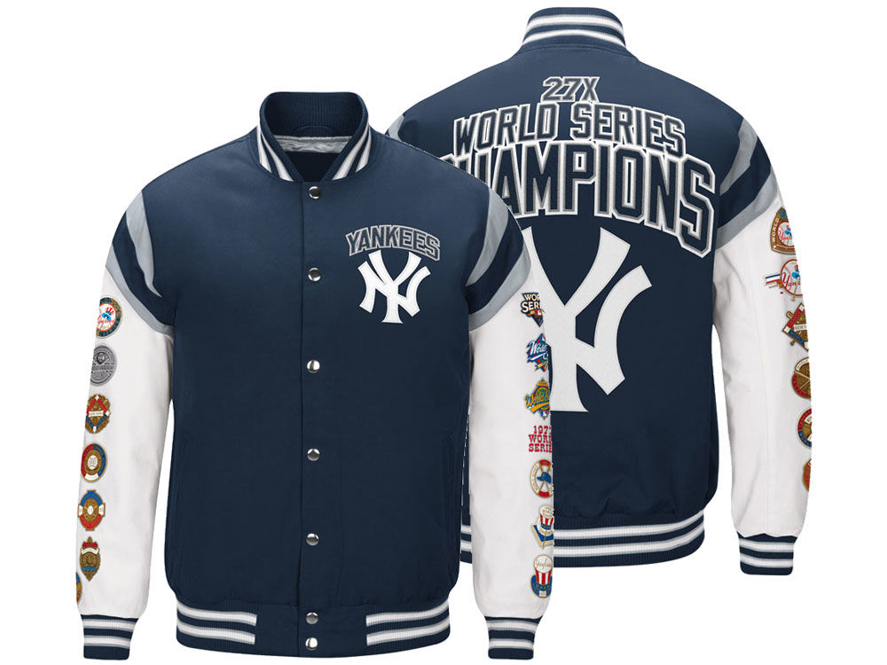 New York Yankees G-III Sports MLB Men s Home Team Commemorative Varsity  Jacket  c29be99b614