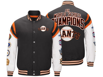 San Francisco Giants G-III Sports MLB Men's Home Team Commemorative Varsity Jacket