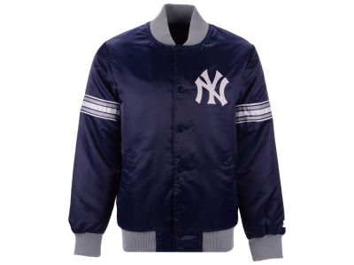 New York Yankees G-III Sports MLB Men's Coop Veteran Satin Jacket