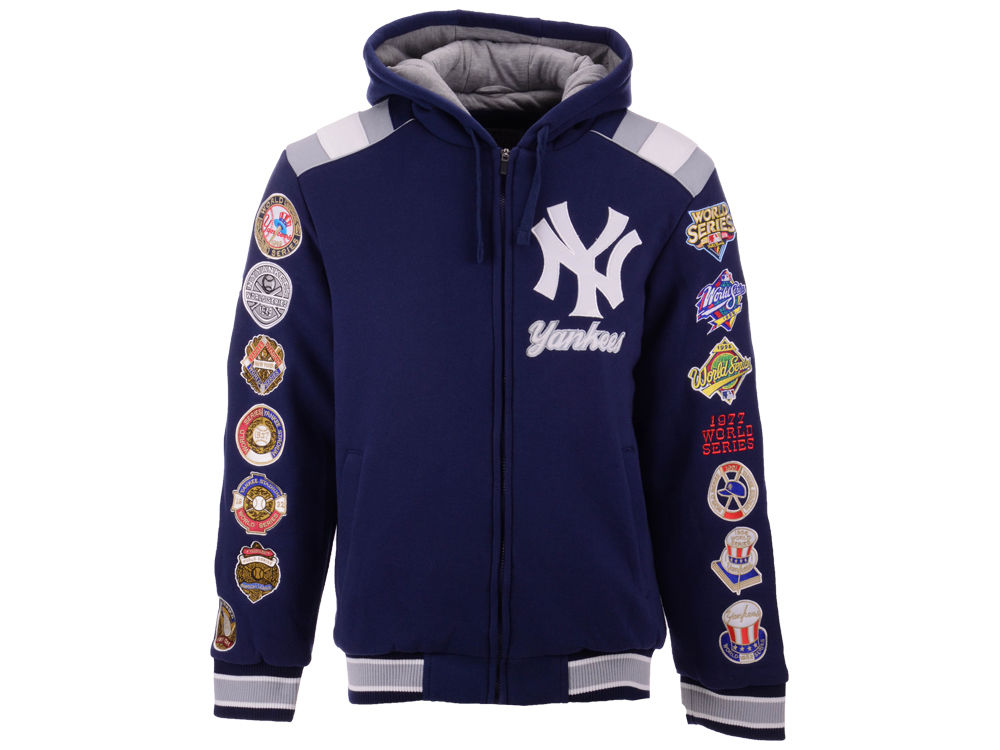 New York Yankees G-III Sports MLB Men s Bullpen Varsity Jacket ... 9d1322d5689