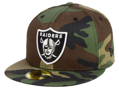 Oakland Raiders New Era NFL Basic Fashion 59FIFTY Cap