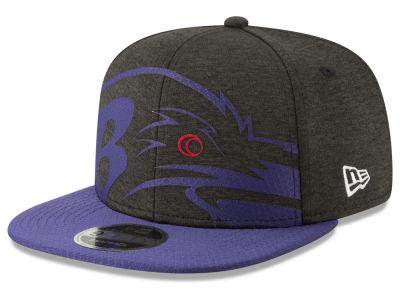 Baltimore Ravens New Era NFL Over Sized Laser Cut 9FIFTY Snapback Cap 7b3096800765