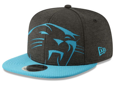 Carolina Panthers New Era NFL Over Sized Laser Cut 9FIFTY Snapback Cap