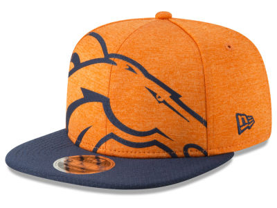 Denver Broncos New Era NFL Over Sized Laser Cut 9FIFTY Snapback Cap