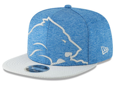 Detroit Lions New Era NFL Over Sized Laser Cut 9FIFTY Snapback Cap