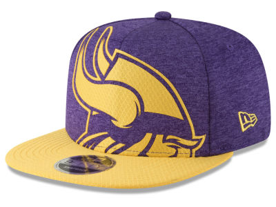 Minnesota Vikings New Era NFL Over Sized Laser Cut 9FIFTY Snapback Cap 58401b8c3