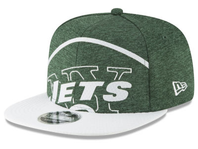 New York Jets New Era NFL Over Sized Laser Cut 9FIFTY Snapback Cap