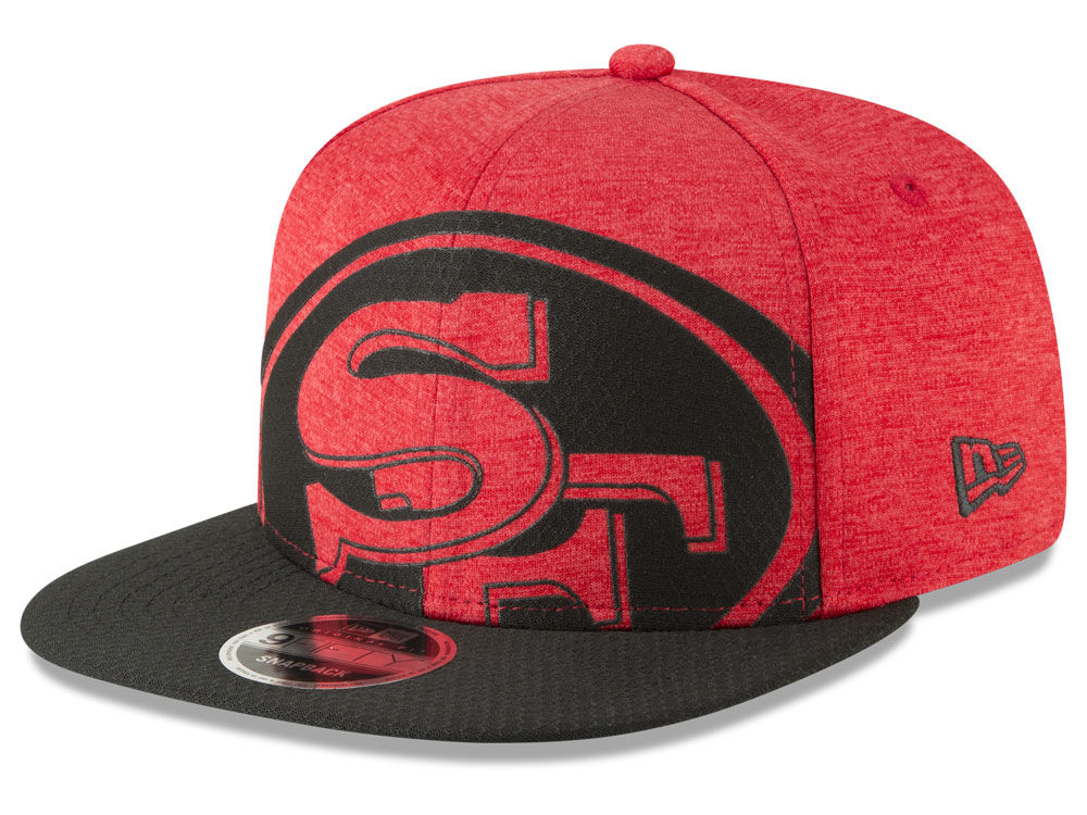 e8def45ee07078 ... where to buy san francisco 49ers new era nfl over sized laser cut  9fifty snapback cap