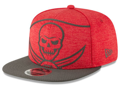 Tampa Bay Buccaneers New Era NFL Over Sized Laser Cut 9FIFTY Snapback Cap