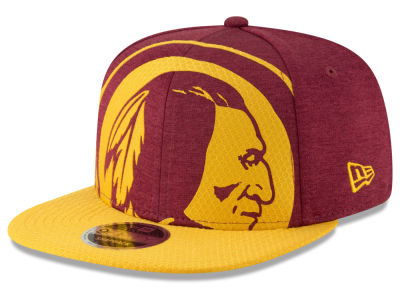 afa062a9e95 Washington Redskins New Era NFL Over Sized Laser Cut 9FIFTY Snapback Cap