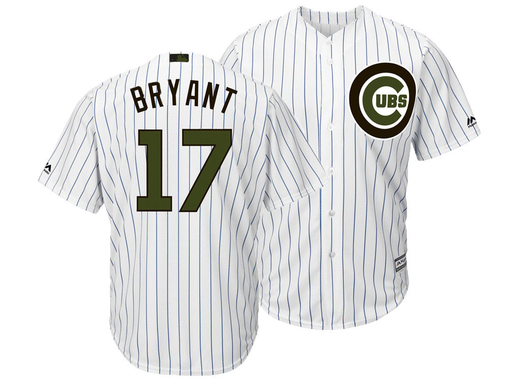 a54f6b45a ... authentic chicago cubs kris bryant majestic mlb mens memorial day cool  base jersey lids cedab 8d97e