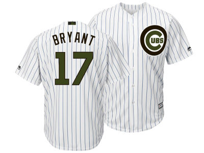 Chicago Cubs Kris Bryant Majestic MLB Men's Memorial Day Cool Base Jersey