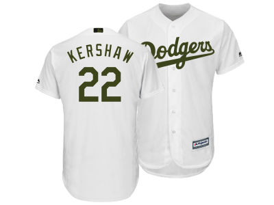 Los Angeles Dodgers Clayton Kershaw Majestic MLB Men's Memorial Day Cool Base Jersey