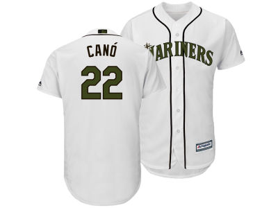 Seattle Mariners Robinson Cano Majestic MLB Men's Memorial Day Cool Base Jersey