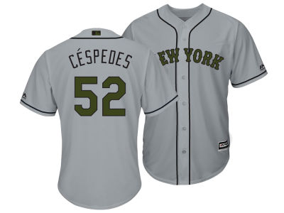 New York Mets Yoenis Cespedes Majestic MLB Men's Memorial Day Cool Base Jersey