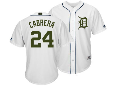 Detroit Tigers Miguel Cabrera Majestic MLB Men's Memorial Day Cool Base Jersey