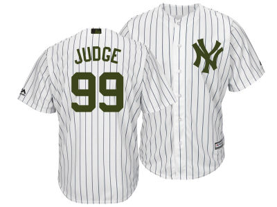New York Yankees Aaron Judge Majestic MLB Men's Memorial Day Cool Base Jersey