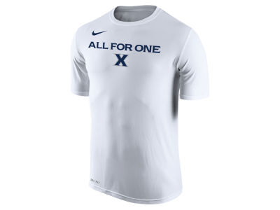 Xavier Musketeers Nike 2018 NCAA Men's Legend Bench T-Shirt
