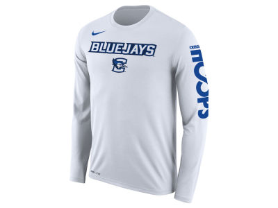 Creighton Blue Jays Nike 2018 NCAA Men's Legend Bench Long Sleeve T-Shirt