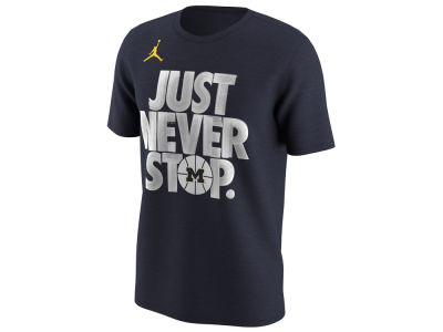 Michigan Wolverines Nike 2018 NCAA Men's Selection Sunday T-Shirt