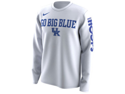 Kentucky Wildcats Nike 2018 NCAA Men's Legend Bench Long Sleeve T-Shirt