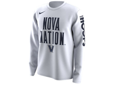 Villanova Wildcats Nike 2018 NCAA Men's Legend Bench Long Sleeve T-Shirt