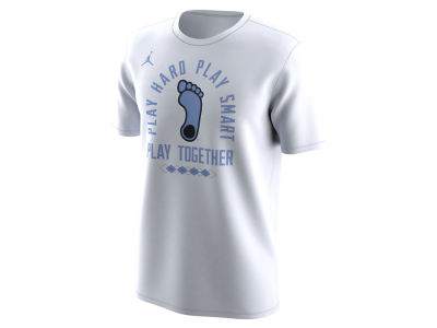 North Carolina Tar Heels Jordan 2018 NCAA Men's Legend Bench T-Shirt