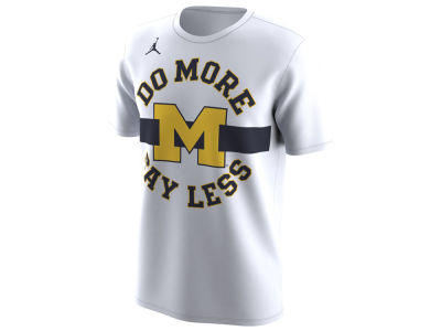 Michigan Wolverines Jordan 2018 NCAA Men's Legend Bench T-Shirt